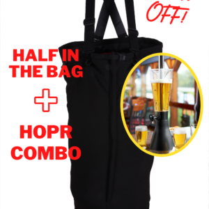 Ultimate Tailgate Package – Half in the Bag + HOPR 64/96 oz. COMBO